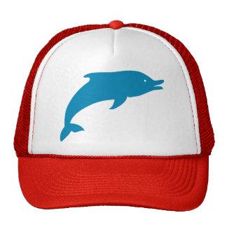 Dolphin Marine Mammals Fish Ocean Blue Animal Cap