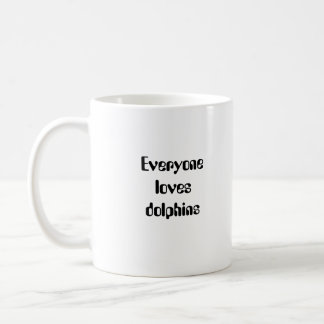 Dolphin Mother and Baby Mug