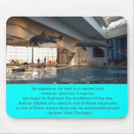 Dolphin Mouse Pad - Cousteau Quote