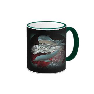 Dolphin Mug Ringer Mug