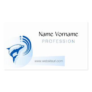 dolphin pack of standard business cards