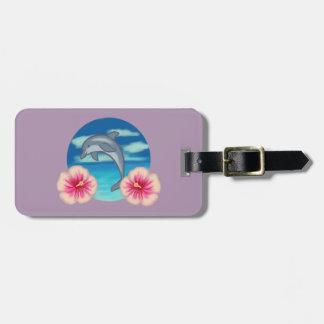 Dolphin Paradise Luggage Tag