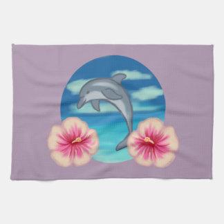 Dolphin Paradise Tea Towel