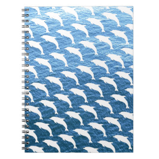 Dolphin Pattern Notebooks