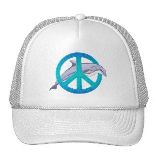 Dolphin Peace Cap