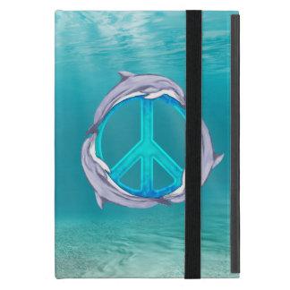 Dolphin Peace iPad Mini Case
