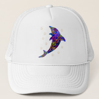 Dolphin Peace Saturday Cap