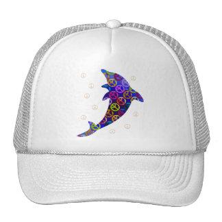 Dolphin Peace Saturday Cap