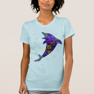 Dolphin Peace Saturday Two Side Shirt