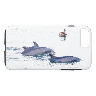 Dolphin Pelican Bird Wildlife Animal iPhone 7 Case