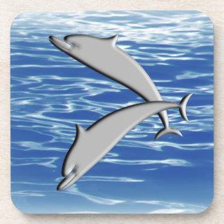 Dolphin Play Coaster