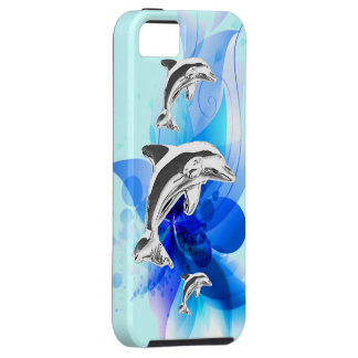Dolphin Play iPhone 5 Case
