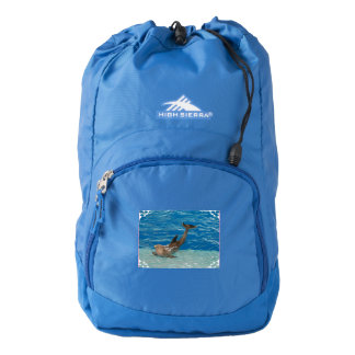 Dolphin Pose Backpack