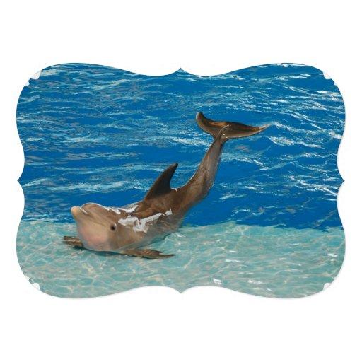Dolphin Pose Personalized Invite