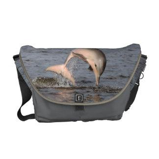 Dolphin Rickshaw Messenger Bag
