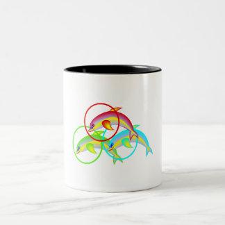 Dolphin Rings Mugs
