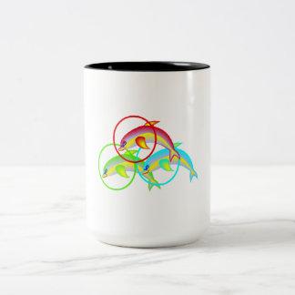 Dolphin Rings Mug