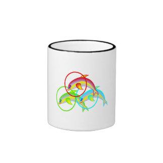 Dolphin Rings Coffee Mug