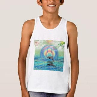Dolphin Rising Tank Top
