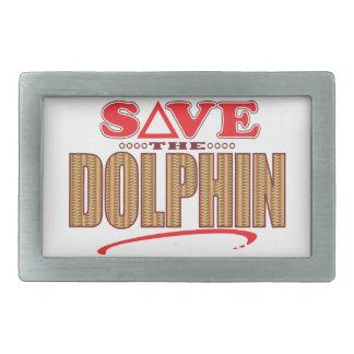 Dolphin Save Belt Buckle