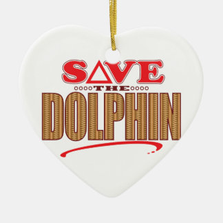 Dolphin Save Christmas Ornament
