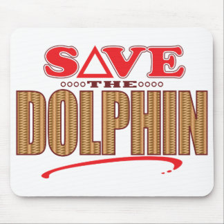 Dolphin Save Mouse Pad