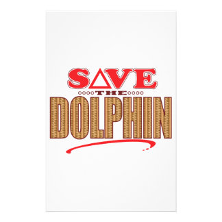 Dolphin Save Stationery
