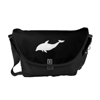 Dolphin Shape Courier Bags