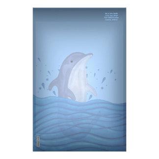 Dolphin Splash Stationery