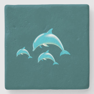 Dolphin Stone Coaster