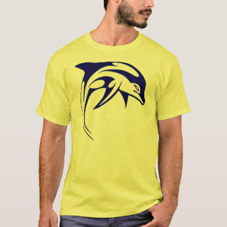 Dolphin 'Stylised' T Shirt