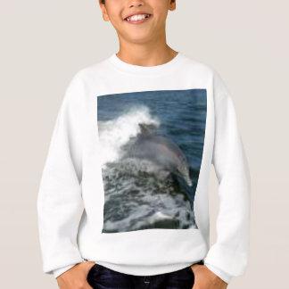 Dolphin Surfing Sweatshirt