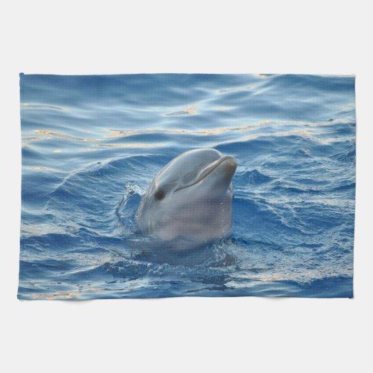 Dolphin Tea Towel