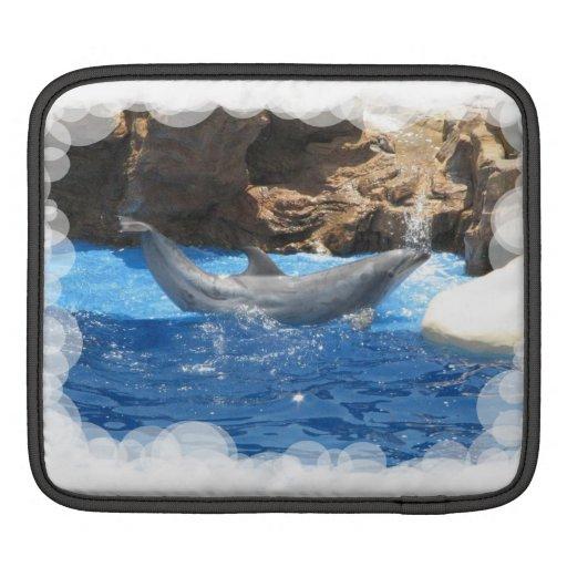 Dolphin Tricks iPad Sleeve