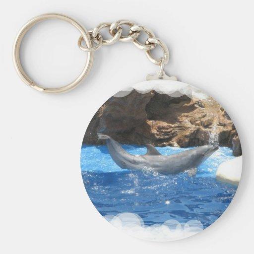 Dolphin Tricks Keychain