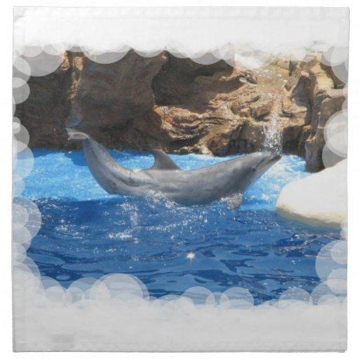 Dolphin Tricks Napkin