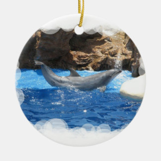 Dolphin Tricks Ornament