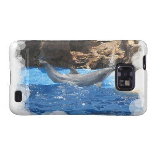 Dolphin Tricks  Samsung Galaxy Case Galaxy SII Case