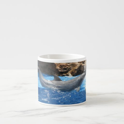 Dolphin Tricks Specialty Mug Espresso Cup
