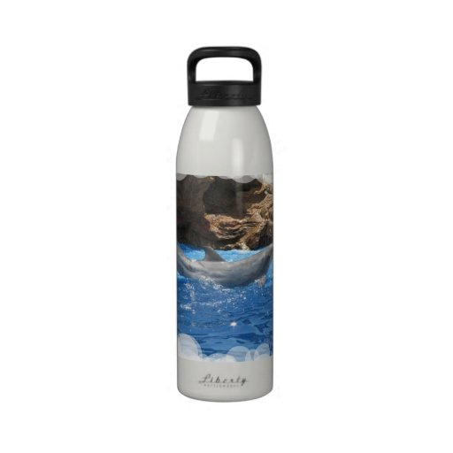 Dolphin Tricks Water Bottle