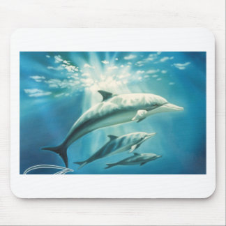 Dolphin Trio Mouse Pad