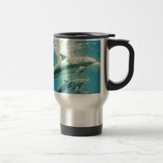 Dolphin Trio Travel Mug