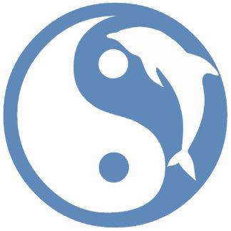 Dolphin Yin Yang Ornament Cut Outs