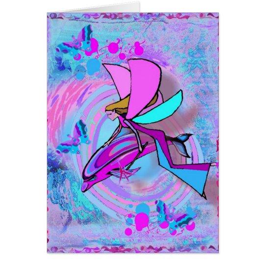Dolphinity Angel Love Card