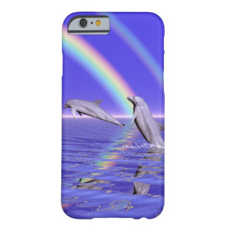 Dolphins and Rainbow iPhone 6/6s Barely There iPhone 6 Case