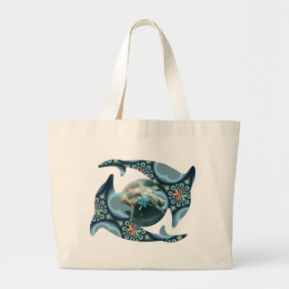 Dolphins at Dione Jumbo Tote Bag