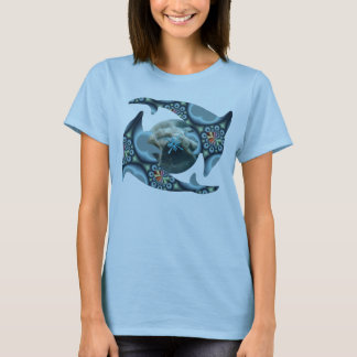 Dolphins at Dione T-Shirt