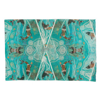 Dolphins At Play Pair Of Pillow Cases