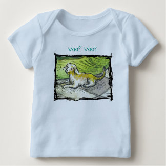 """""""Dolphins"""" Baby American Apparel Lap T-Shirt"""