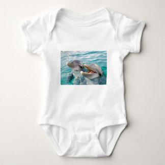 Dolphins Baby Bodysuit